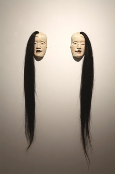 SP Extra malformed Noh mask series half skeleton's twins, 2007.jpg