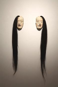 SP Extra malformed Noh mask series half skeleton's twins, 2007.jpg