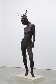 SP4 the specter -Arabesque woman with a heart-, 2009.jpg